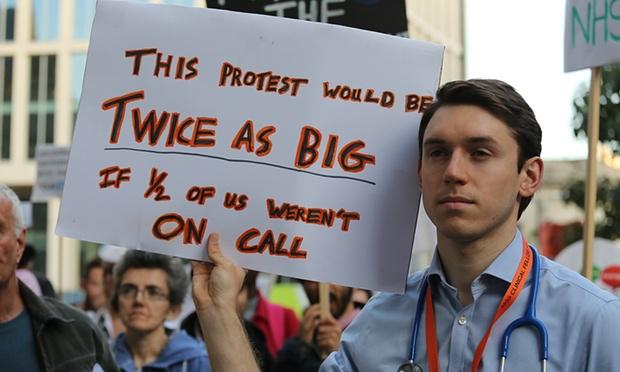 Par tautas dzīvību – mediķu protests